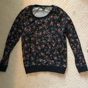 Floral forever twenty one sweatshirt
